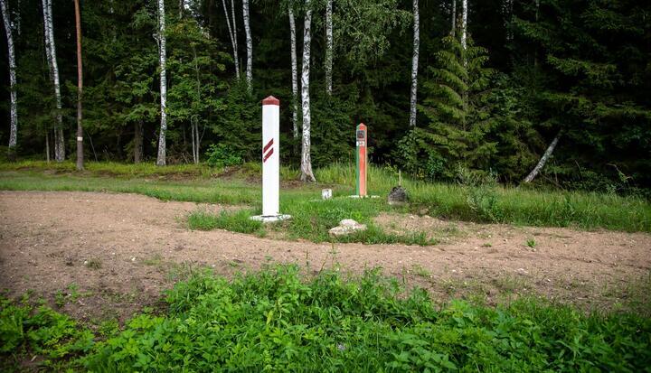 Фото: пресс-служба Государственной пограничной охраны Латвии