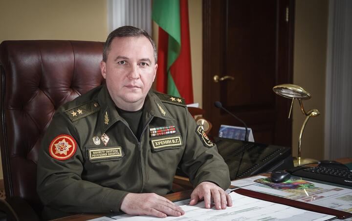 Виктор Хренин. Фото: пресс-служба Министерства обороны