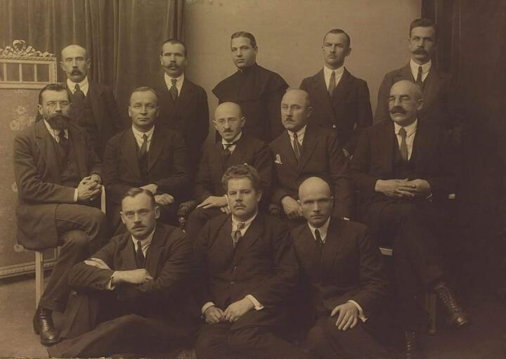 Белорусский посольский клуб. 1923 год. Фото: wikipedia.org