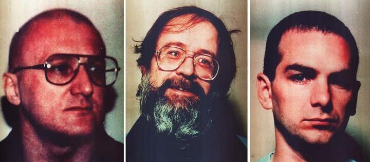 Слева направо: Эндрю Роджер, Кит Роуз, Мэтью Уильямс. Фото: thesun.co.uk