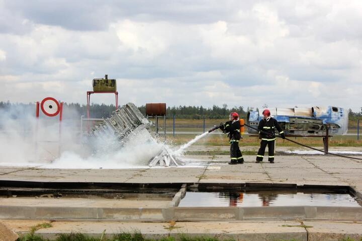 Фото: телеграм-канал Национального аэропорта Минск️