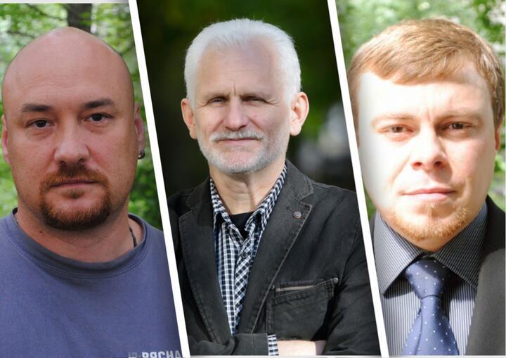 Правозащитники Валентин Стефанович, Алесь Беляцкий, Владимир Лабкович