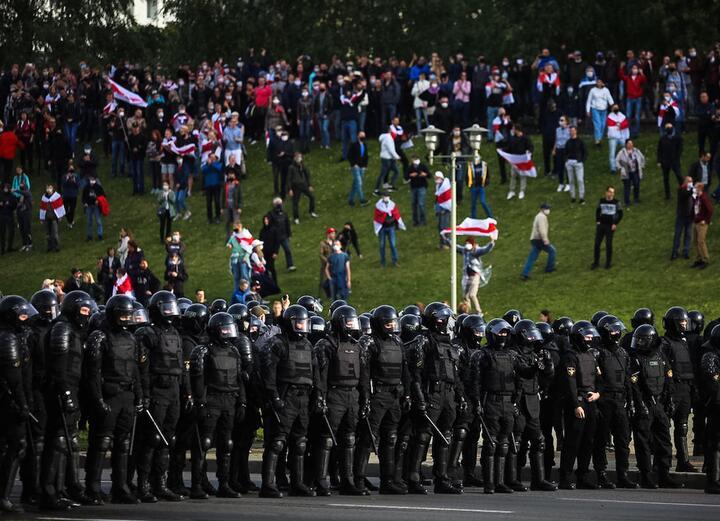 Минск, 16 августа 2020-го