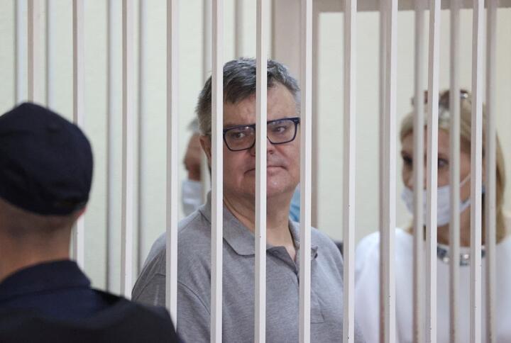Виктор Бабарико в день вынесения приговора, 6 июля 2021 года. Фото: Reuters