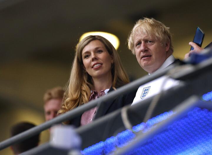 Кэрри и Борис Джонсон. Фото: Reuters