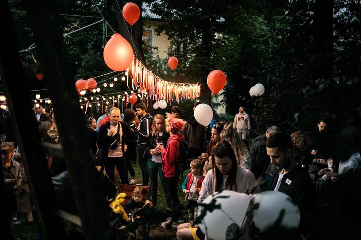 Дворовой праздник в микрорайоне Осмоловка. 13 сентября 2020 года, Минск