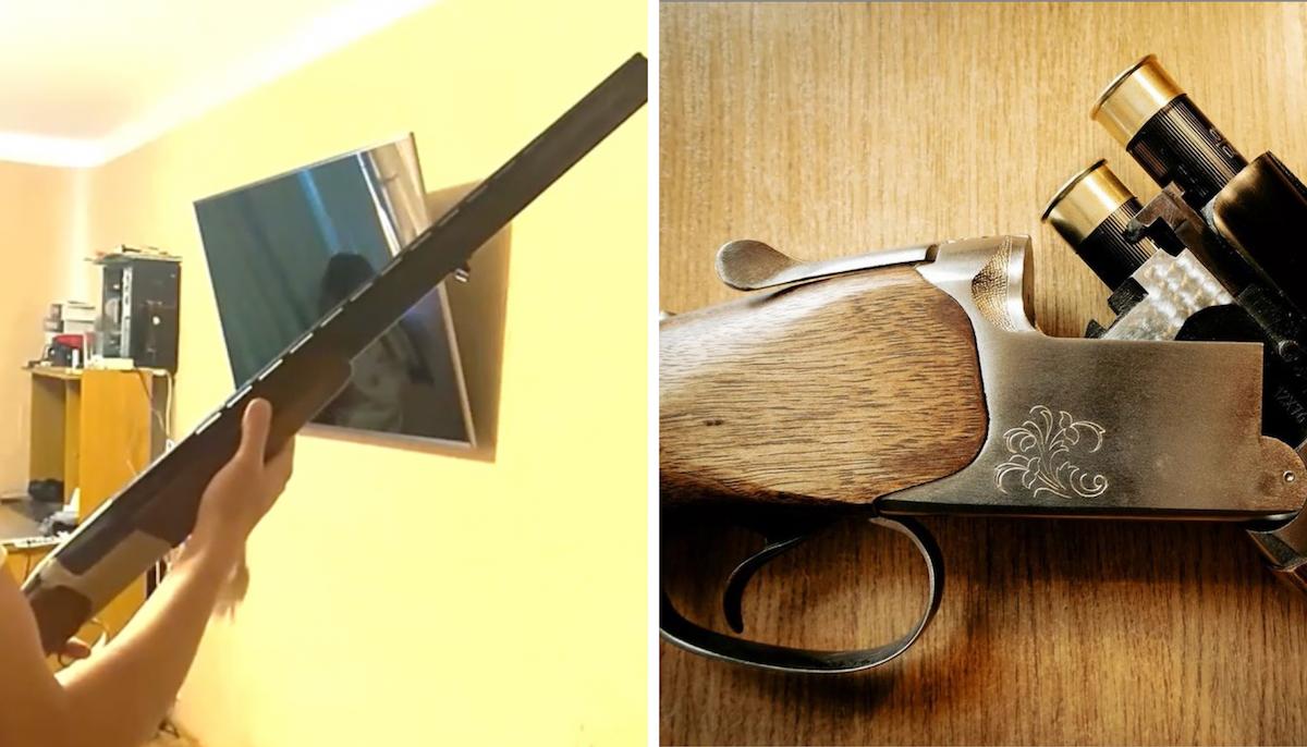 Коллаж: первое фото - скриншот из оперативной съемки КГБ, второе - взято со страницы Андрея Зельцера в Instagram @felicempor