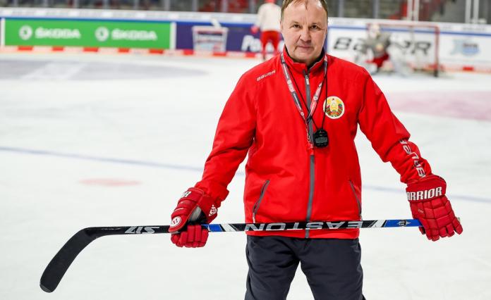Михаил Захаров. Фото: belarushockey.com