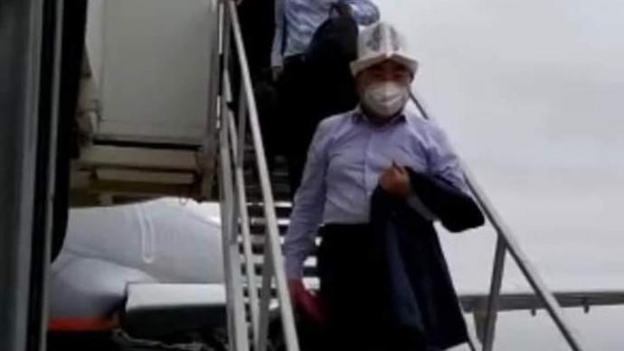 Аскар Акаев. Скриншот видео ГКНБ Кыргызстана