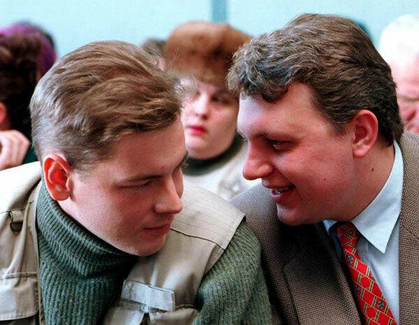 Дмитрий Завадский (слева) и Павел Шеремет. Фото: baj.by